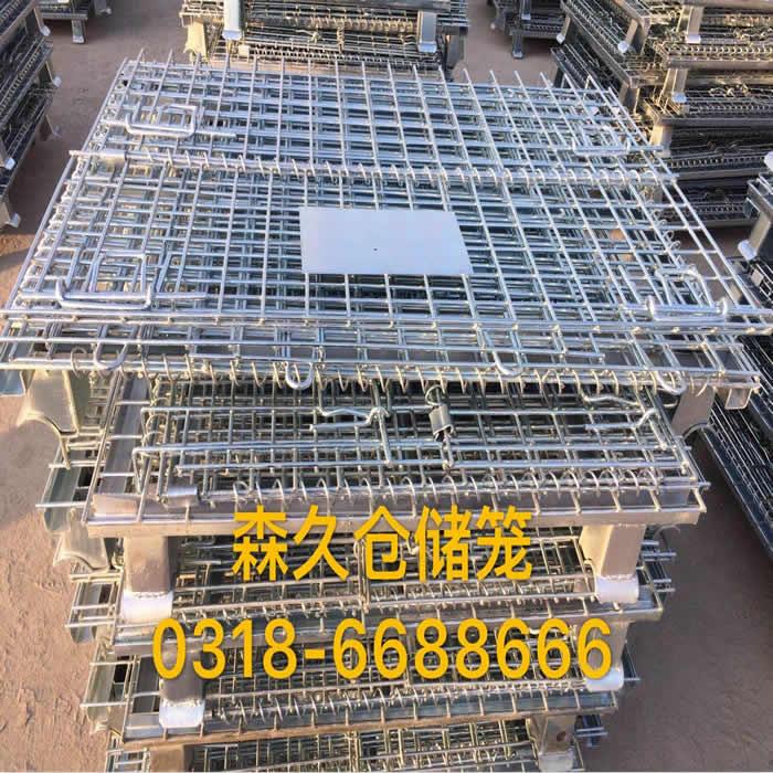 四川绵阳市50台折叠仓储笼成功发货
